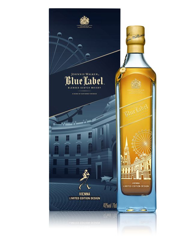 Johnnie Walker Blue Label Vienna Design 0,7 l