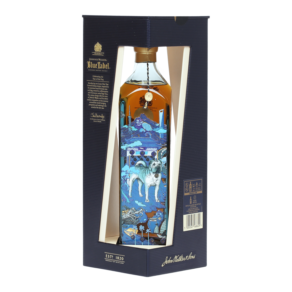 Johnnie Walker Blue Label Year of The Dog 0,75 l