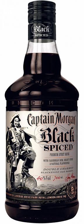 Captain Morgan Black Spiced 0,7l