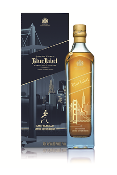 Johnnie Walker Blue Label San Francisco 0,75 l