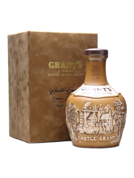 Grants 21 yo Castle Grant Ceramic Decanter 0,75 l
