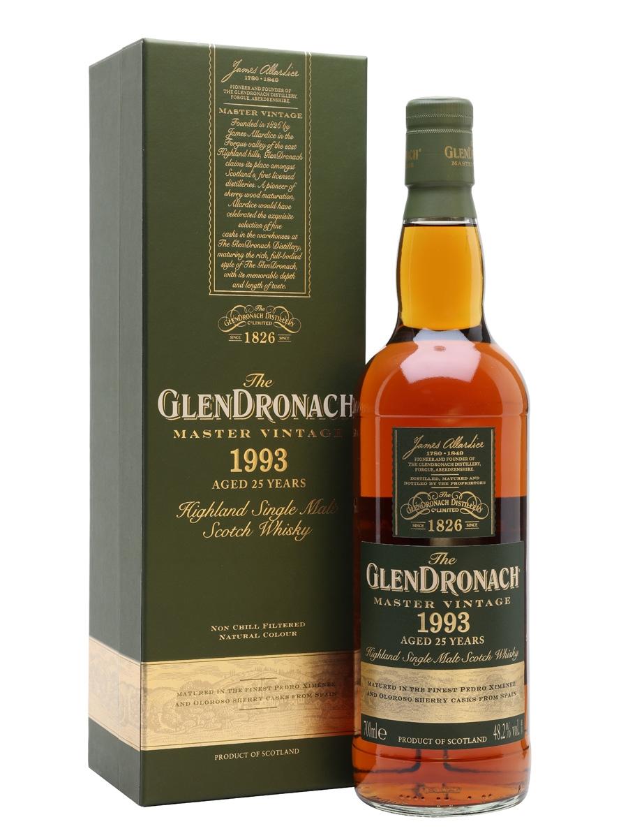 Glendronach 25 yo Master Vintage 1993 0,7 l