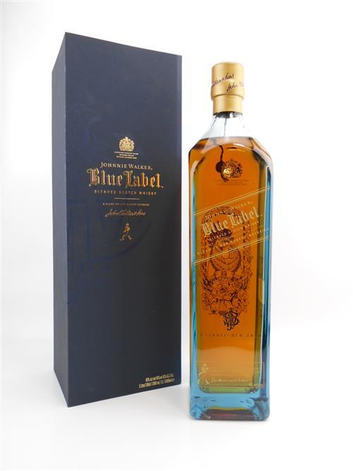 Johnnie Walker Blue Zodiac Rooster 1 l