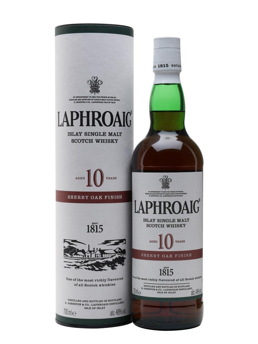 Laphroaig 10 yo Sherry Cask Finish 48% 0,7 l (holá láhev)