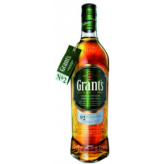 Grants Sherry Cask Finish 0,7l