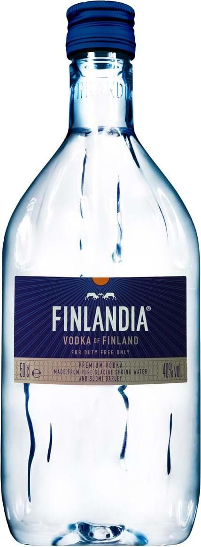 Finlandia 40 % PET 0,5 l (holá láhev)