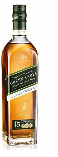 Johnnie Walker Green Label 15 yo 0,7l