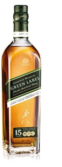 Johnnie Walker Green Label 15 yo 0,7 l