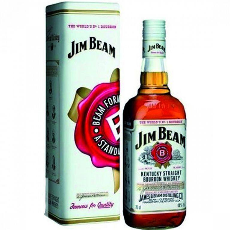 Jim Beam plechová tuba 0,7l