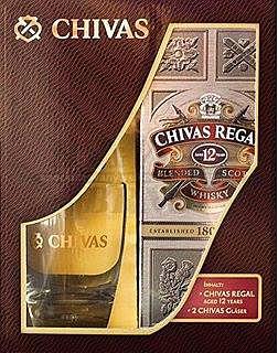 Chivas Regal 12 yo 0,7l v dárkovém balení