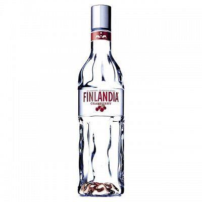Finlandia Cranberry 37 % 0,5 l (holá láhev)
