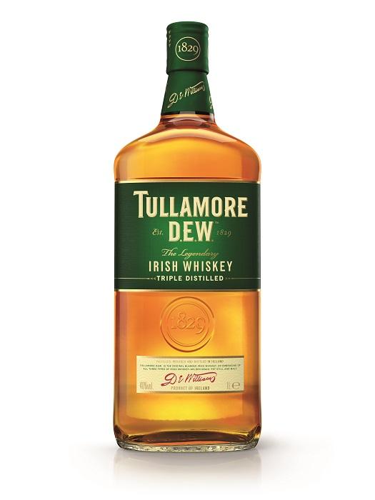 Tullamore Dew 40 % 1 l (holá láhev)