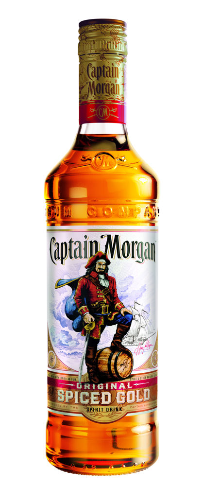 Captain Morgan Spiced Gold 0,7l