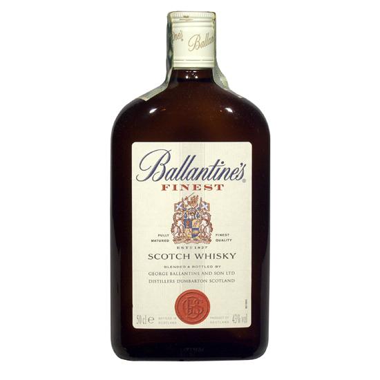Ballantines Finest 40 % 0,5 l (holá láhev)