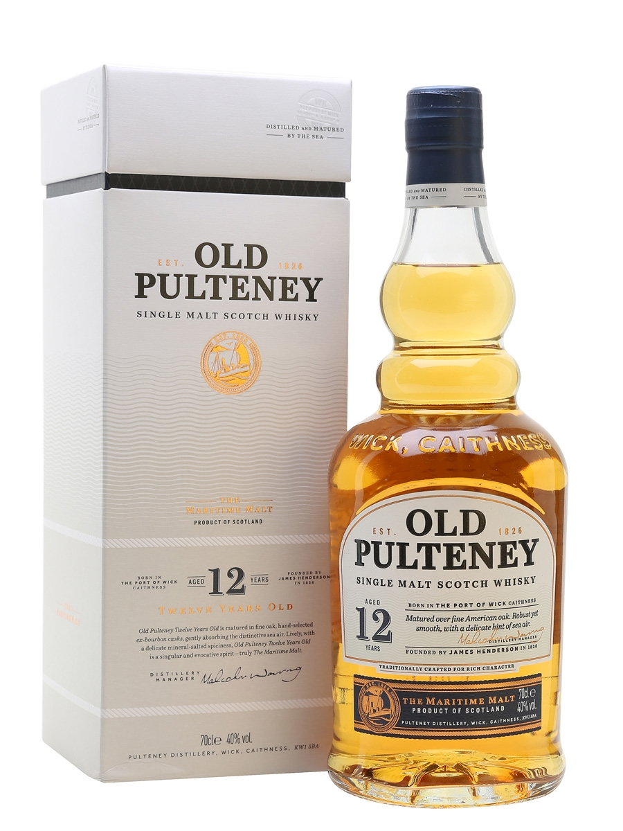 Old Pulteney 12 yo 0,7l
