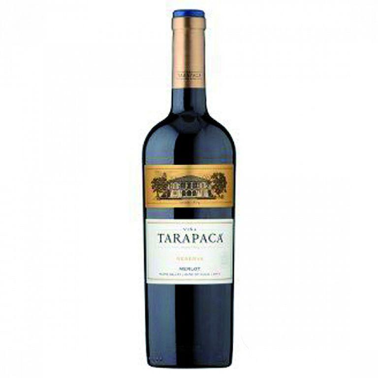 Viňa Tarapacá Merlot Reserva Tarapacá 0,75l