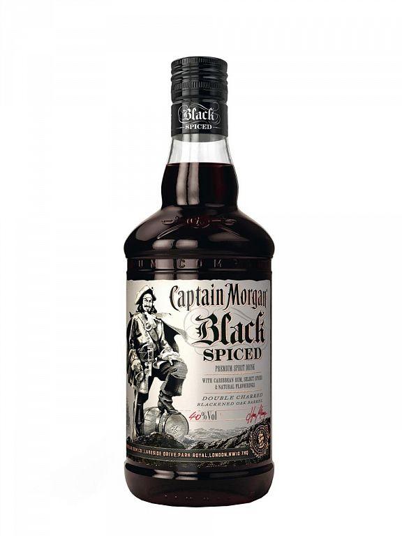 Captain Morgan Black Spiced 1l
