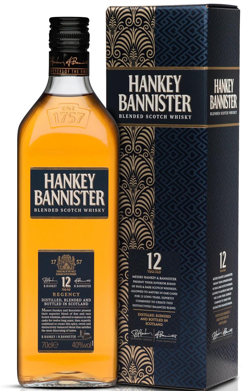 Hankey Bannister 12 yo 0,7l