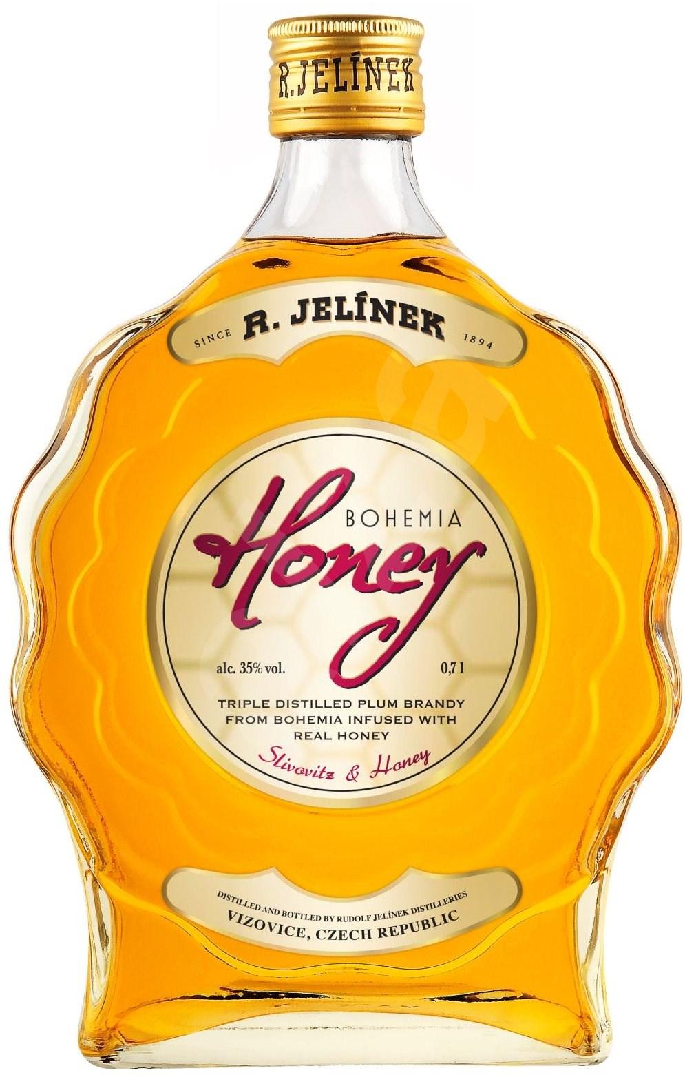 Bohemia Honey 0,7l Rudolf Jelínek