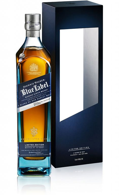 Johnnie Walker Blue Label by Porsche Design Studio 0,7l