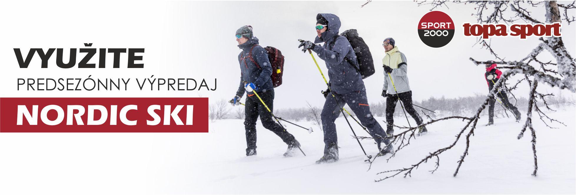predsezónny vypredaj Nordic