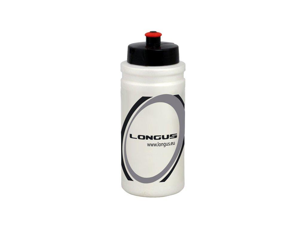 Fľaša Longus FIUME 500ml biela/čierna/še