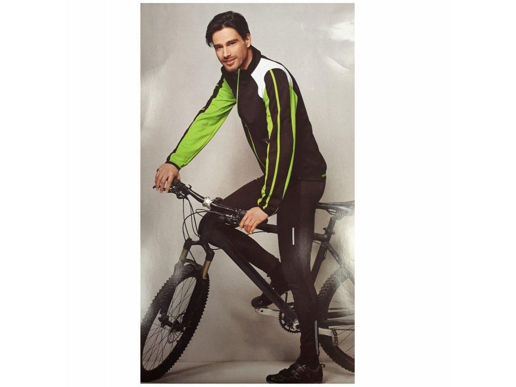 Cyklistické nohavice black