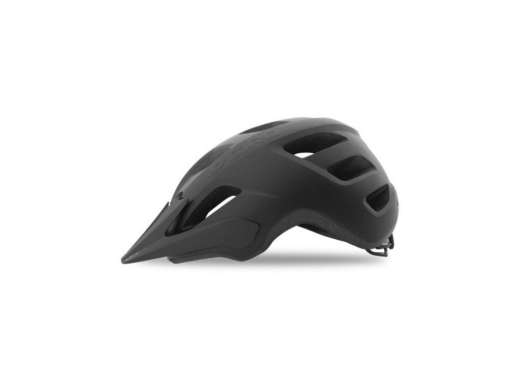 Prilba Giro FIXTURE Mat Black 2021