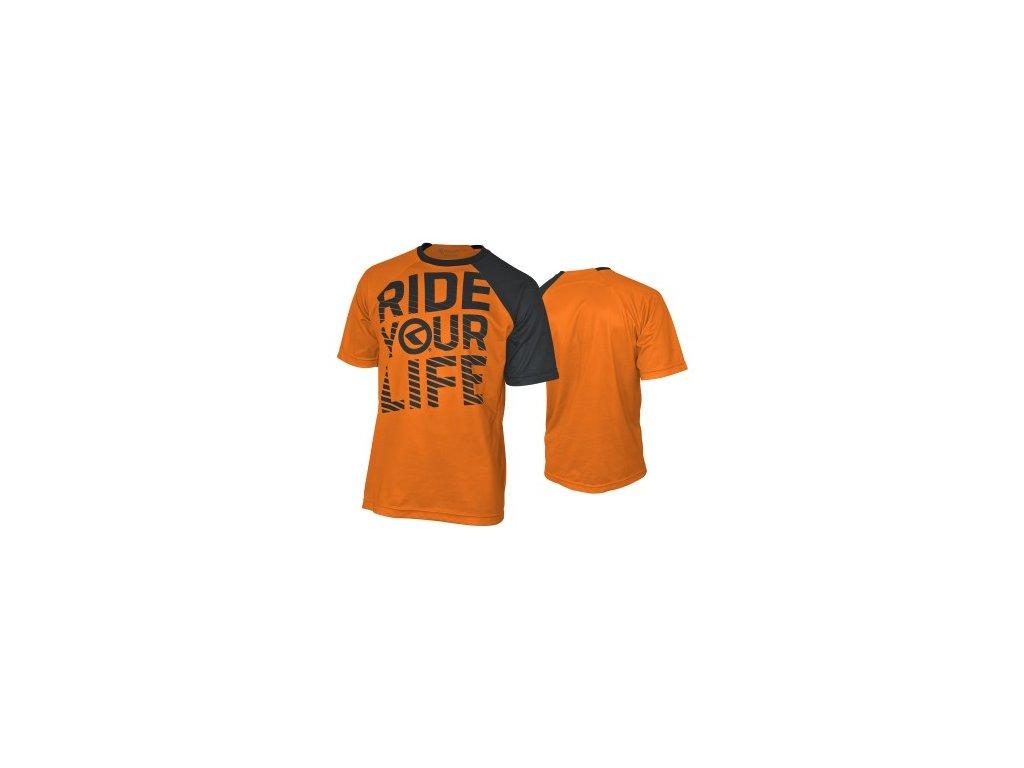 Dres Kellys RIDE YOUR LIFE short orange