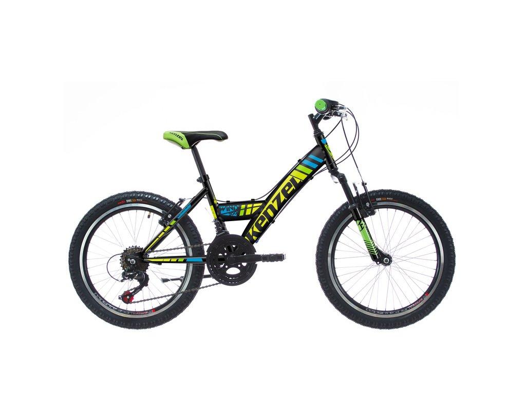"""Bicykel Kenzel WIND SF200 20"""" black 2021"""