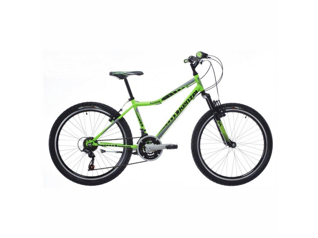"""Bicykel Kenzel ROXIS SF 24"""" neon green 2021"""