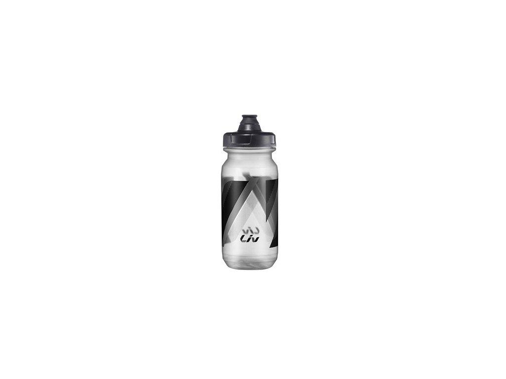 Fľaša LIV cleanspring 600cc transp. blk