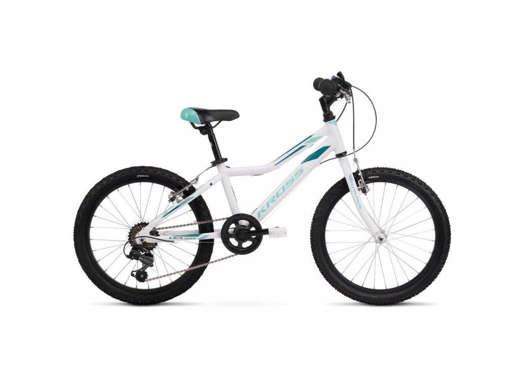 "Bicykel Kross Lea Mini 1.0 20"" white 2021"