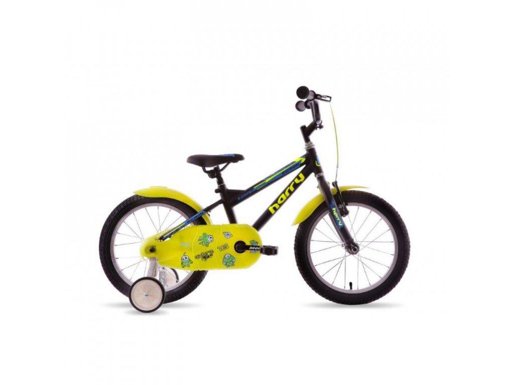 """Bicykel Harry Micron 16"""" čierny"""