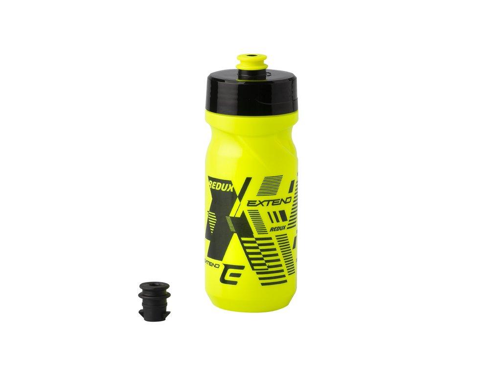 Fľaša Extend Redux 600ml yellow fluo