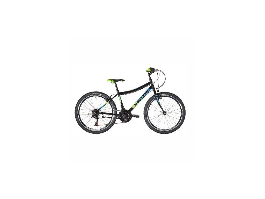 """Bicykel Kenzel YUM 24"""" black 2021"""