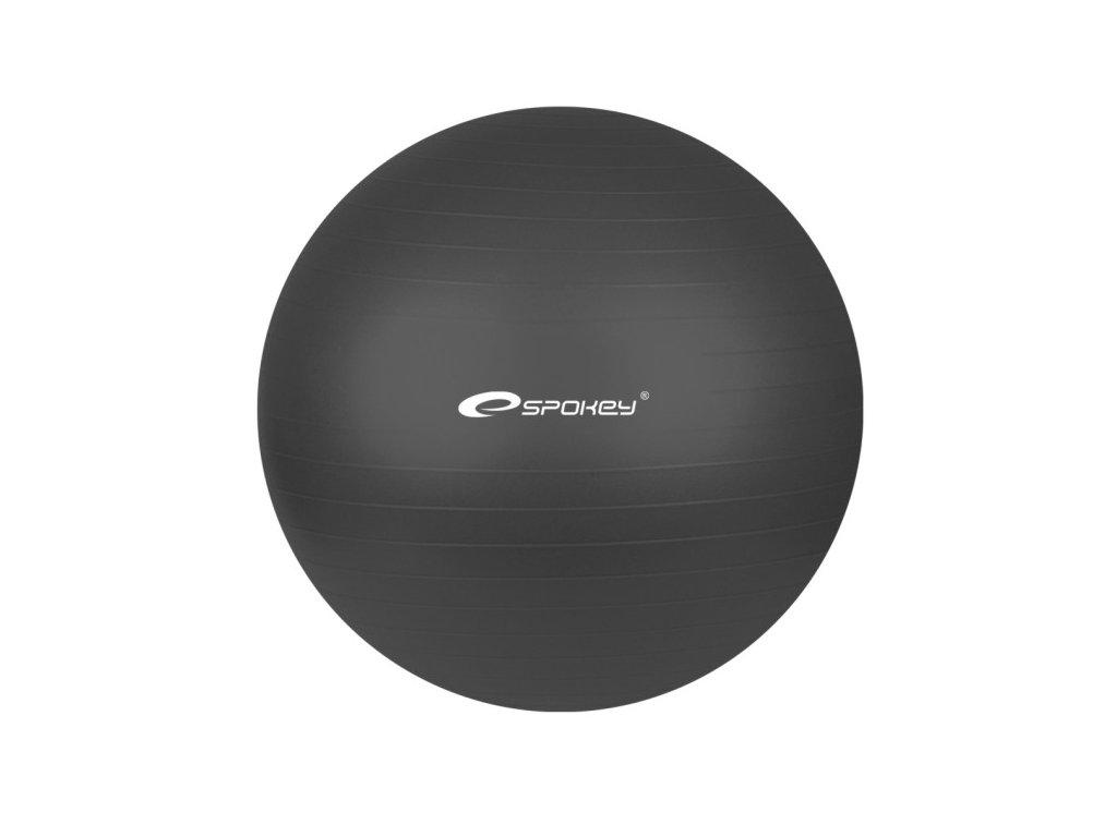 Lopta Spokey gymball NEW čierna