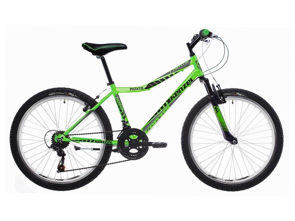 "Bicykel Kenzel ROXIS SF 26"" flou/green 2021"