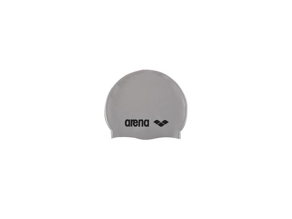 čiapka Arena Classic Silicone Cap šeda