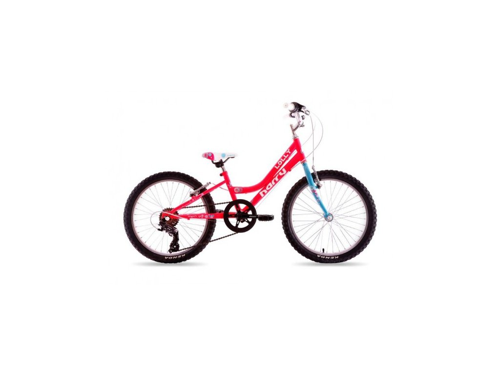 """Bicykel Harry LOLLY 20"""" pink 2019"""