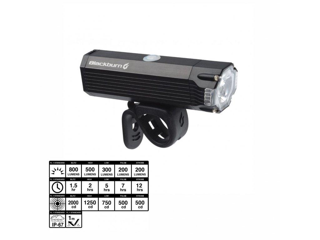 Svetlo BlackBurn DAYBLAZER 800 USB