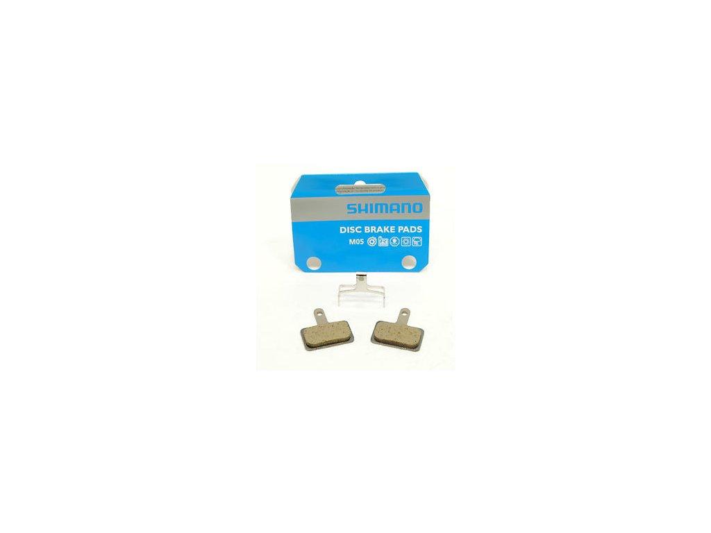 Brzdové platničky Shimano resin M05