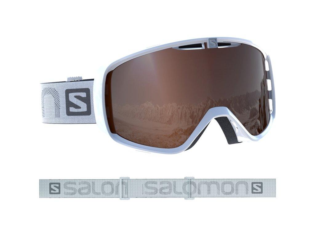 Okuliare Salomon AKSIUM Access white 18/19