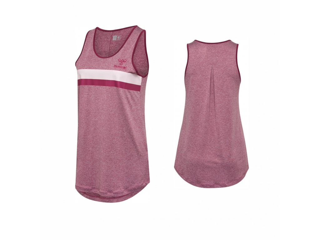 Tričko Hummel 203030 HMLZOE TOP bordo