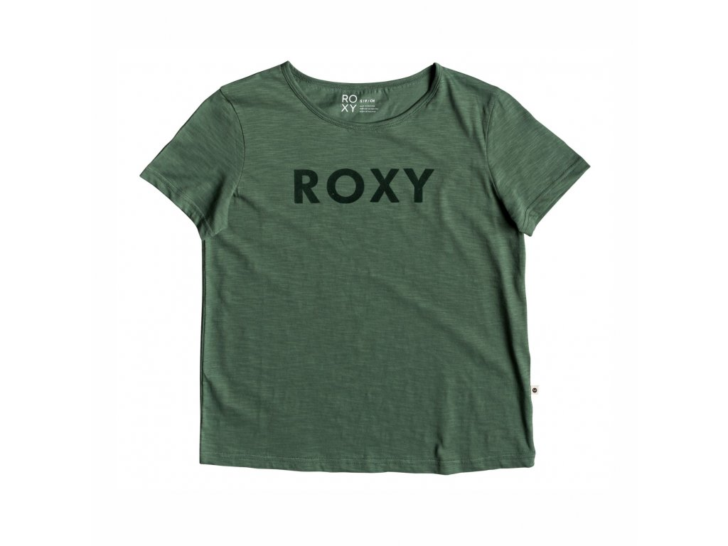 Tričko Roxy RED SUNSET SS A J TEES green