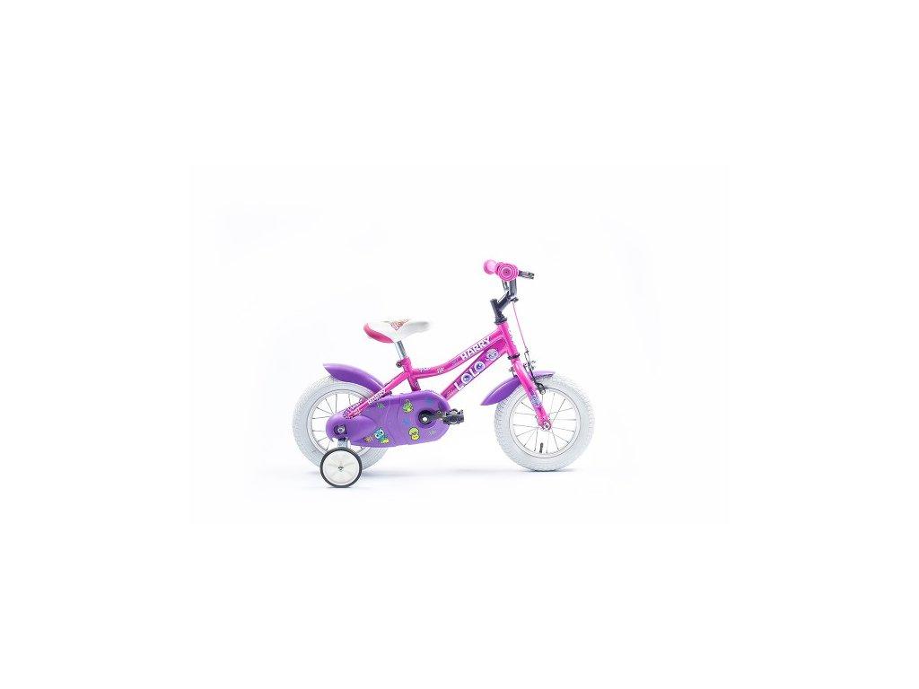 "Bicykel Harry LOLO 12"" ružovy 2019"