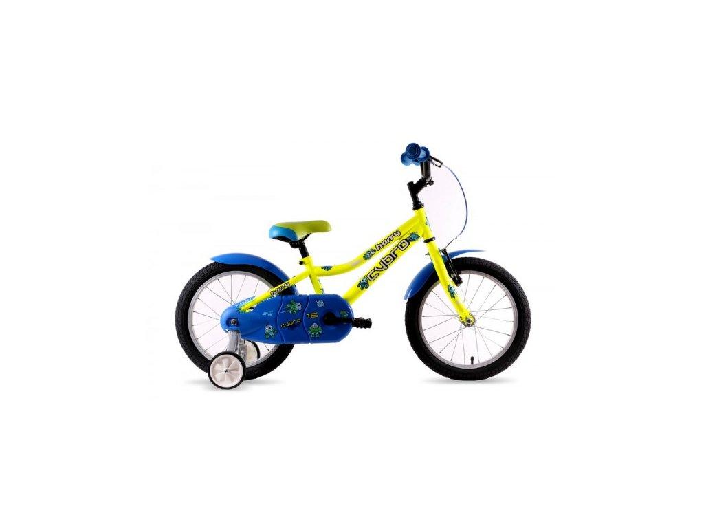"Bicykel Harry CYBRO 16"" žlty 2019"