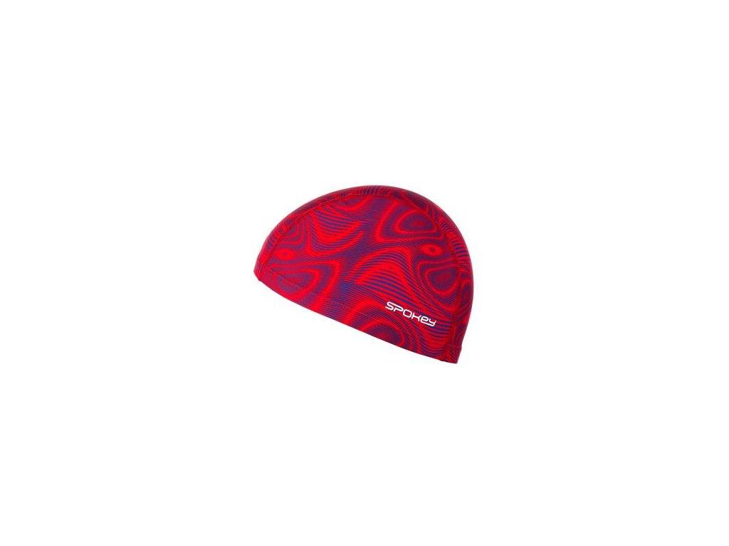 čiapka Spokey TRACE nylon červená