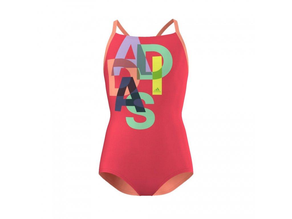Plavky adidas AJ7810 Y LIN 1PC KG