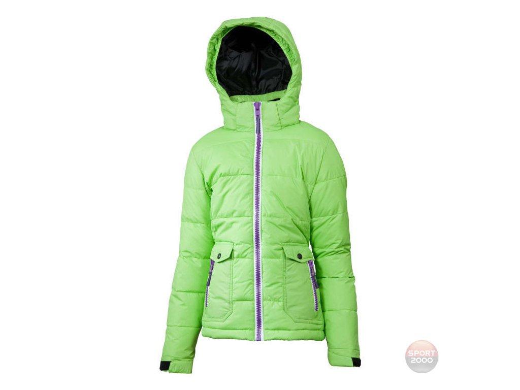 Detska perová bunda V3TEC green